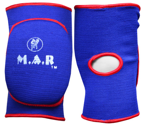 MAR-174D | Blue Elasticated Fabric Knee Pads