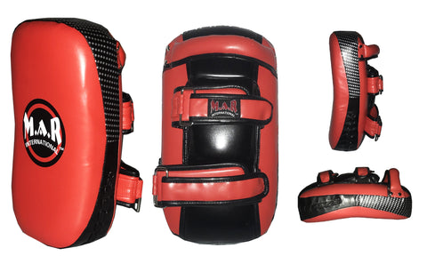 MAR-202C | Red+Black Synthetic Leather Striking Pad