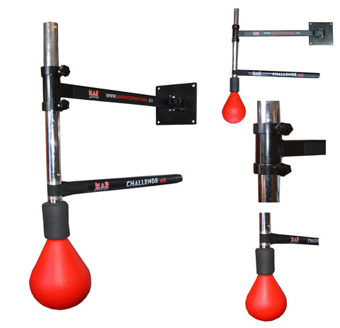 MAR-420B  | Boxing Spinning Bar with Tear Shaped Ball Target