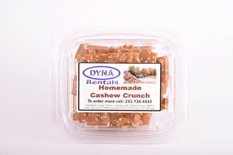Homemade Cashew Crunch - DYNA Firewood Processors