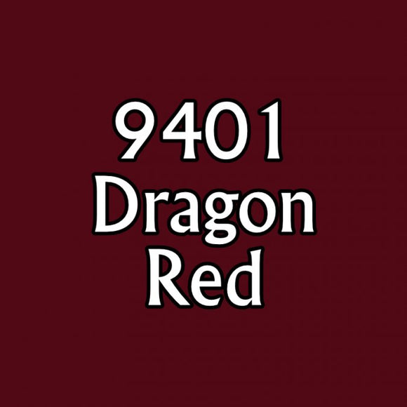 Reaper MSP Bones: Dragon Red (9401)