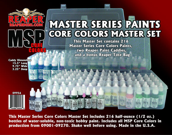 Reaper: Master Series Paints Core Colors Master Set (09956)
