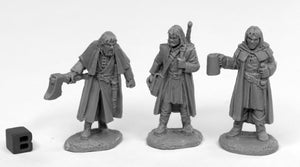 Reaper Bones Black: Dreadmere Mercenaries (3) (44016)