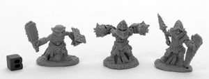 Reaper Bones Black: Bloodstone Gnome Warriors (3) (44041)