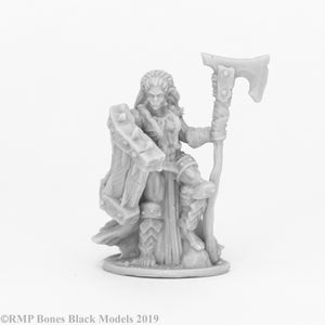 Reaper Bones Black: Jade Fire Chieftain (44088)