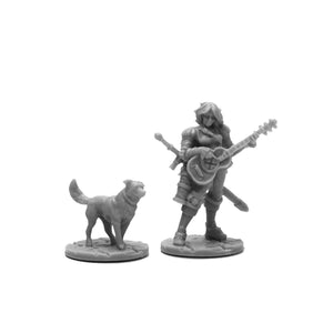 Reaper Bones Black: Isobael the Bard and Rufus (44114)