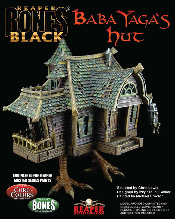 Reaper Bones Black: Baba Yaga's Hut (Boxed Set) (44130) - Unpainted