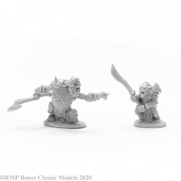 Reaper Bones: Armored Goblin Leaders (2) (77678)