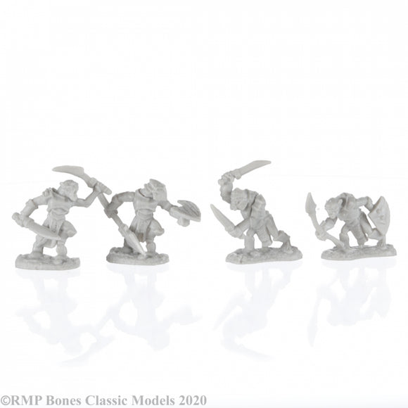 Reaper Bones: Armored Goblin Warriors (4) (77679)