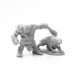 Reaper Bones: Hill Giant Hunter & Dire Lion (77939)