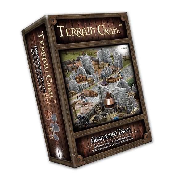 Mantic Games - Terrain Crate: Abandoned Town (MGTC210)