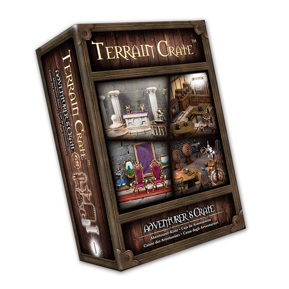 Mantic Games - Terrain Crate: Adventurer's Crate (MGTC135)