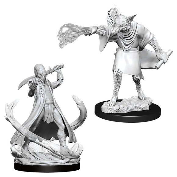 D&D Nolzur's Marvelous Miniatures: Arcanaloth & Ultroloth (90015)