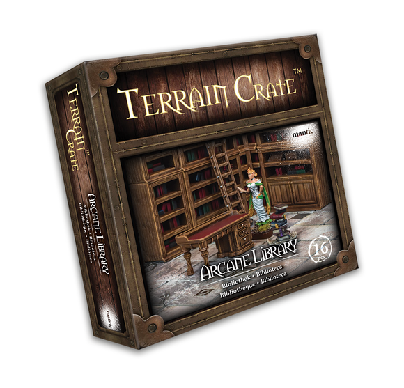 Mantic Games - Terrain Crate: Arcane Library (MGTC110)