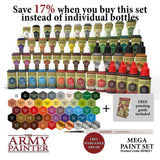 The Army Painter Warpaints Set: Mega Paint Set (WP8021)