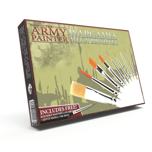 The Army Painter: Wargames Mega Brush Set (ST5113)