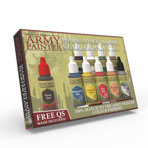 The Army Painter Warpaints Set: Wargames Hobby Starter Paint Set (WP8020)