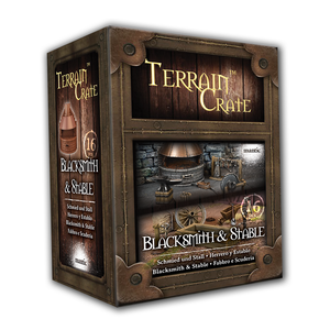 Mantic Games - Terrain Crate: Blacksmith & Stable (MGTC165)