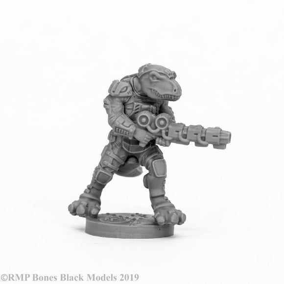 Reaper Bones Black: Blacktooth Suppressor (49008)