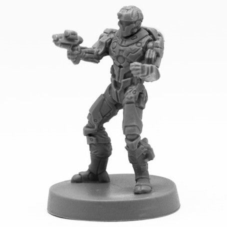 Reaper Bones Black: Blood Nebula Mercenary (49017)