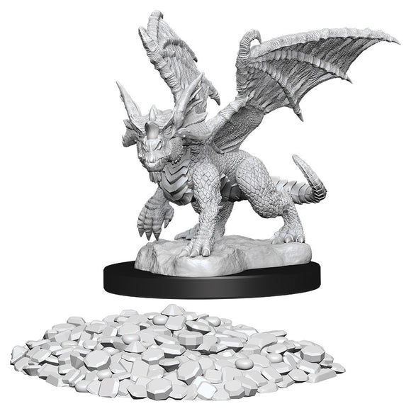D&D Nolzur's Marvelous Miniatures: Blue Dragon Wyrmling (73852)
