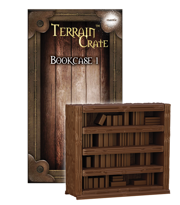 Mantic Games - Terrain Crate: Bookcase 1 (MGTC156)