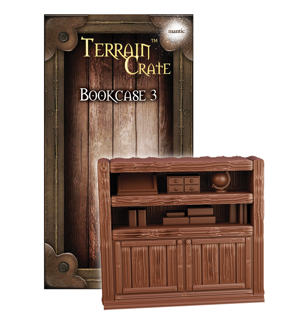 Mantic Games - Terrain Crate: Bookcase 3 (MGTC158)