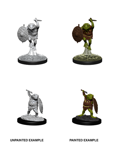 PREORDER - D&D Nolzur's Marvelous Miniatures: Bullywug (90069)