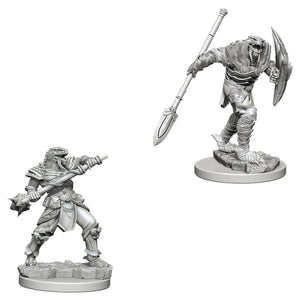 D&D Nolzur's Marvelous Miniatures: Dragonborn Male Fighter w/Spear (73340)