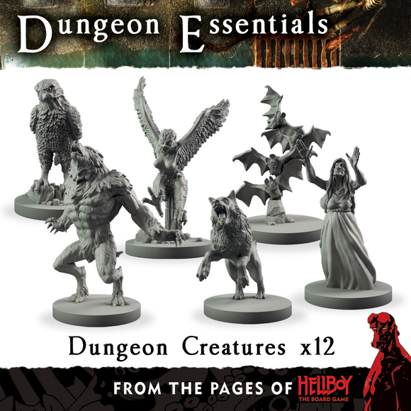 Mantic Games - Terrain Crate: Dungeon Essentials - Dungeon Creatures (MGTC141)