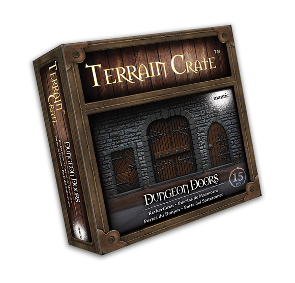 Mantic Games - Terrain Crate: Dungeon Doors (MGTC136)