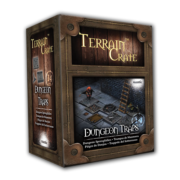 Mantic Games - Terrain Crate: Dungeon Traps (MGTC168)