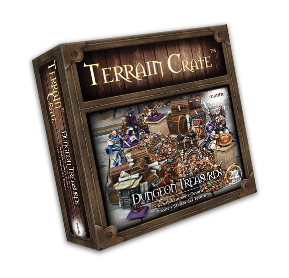 Mantic Games - Terrain Crate: Dungeon Treasures (MGTC109)