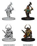 D&D Nolzur's Marvelous Miniatures: Dwarf Barbarian (Female) (72645)