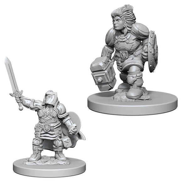 D&D Nolzur's Marvelous Miniatures: Dwarf Paladin (Female) (72631)