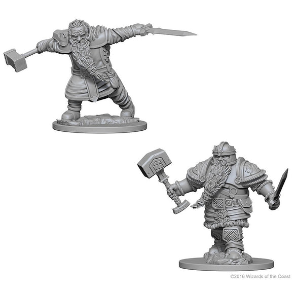 D&D Nolzur's Marvelous Miniatures: Dwarf Fighter (Male) (72616)