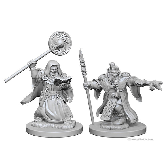 D&D Nolzur's Marvelous Miniatures: Dwarf Wizard (Male) (72620)