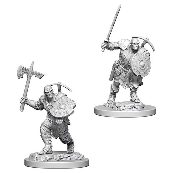 D&D Nolzur's Marvelous Miniatures: Earth Genasi Fighter (Male) (73203)