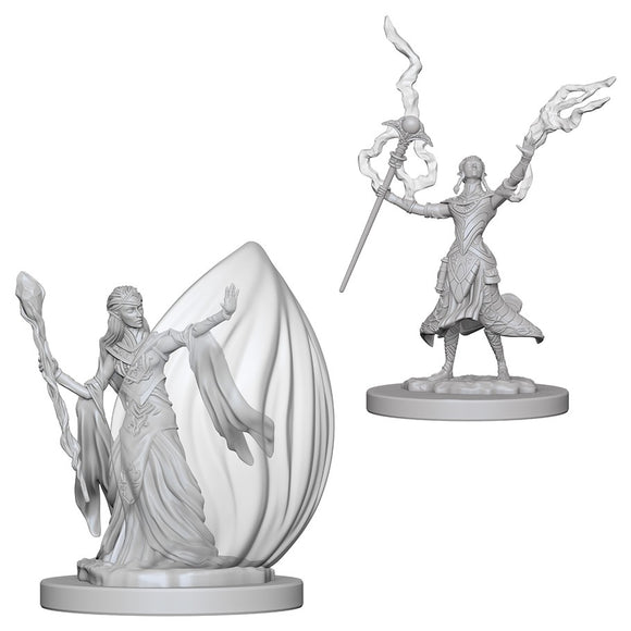 D&D Nolzur's Marvelous Miniatures: Elf Wizard (Female) (72623)