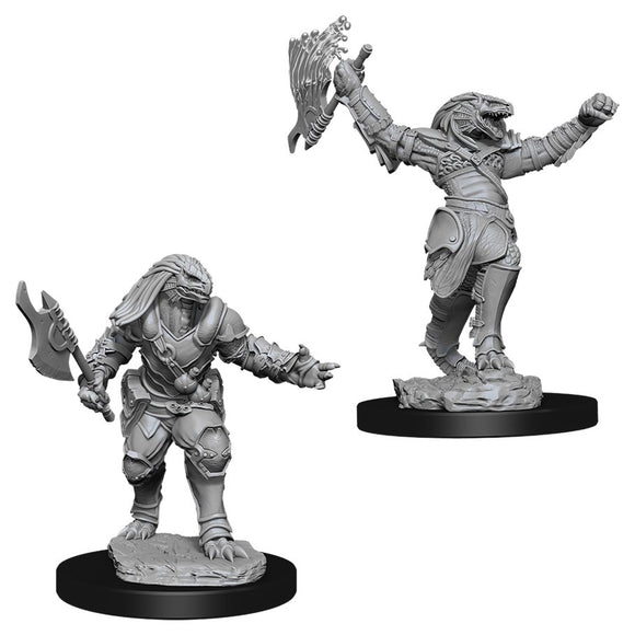 PREORDER - D&D Nolzur's Marvelous Miniatures: Female Dragonborn Fighter (90001)