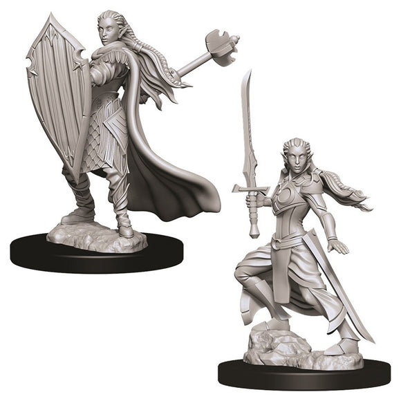 D&D Nolzur's Marvelous Miniatures: Female Elf Paladin (73706)