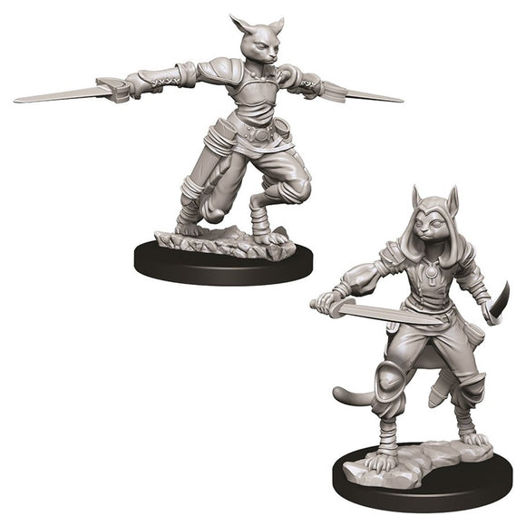 D&D Nolzur's Marvelous Miniatures: Female Tabaxi Rogue (73708)