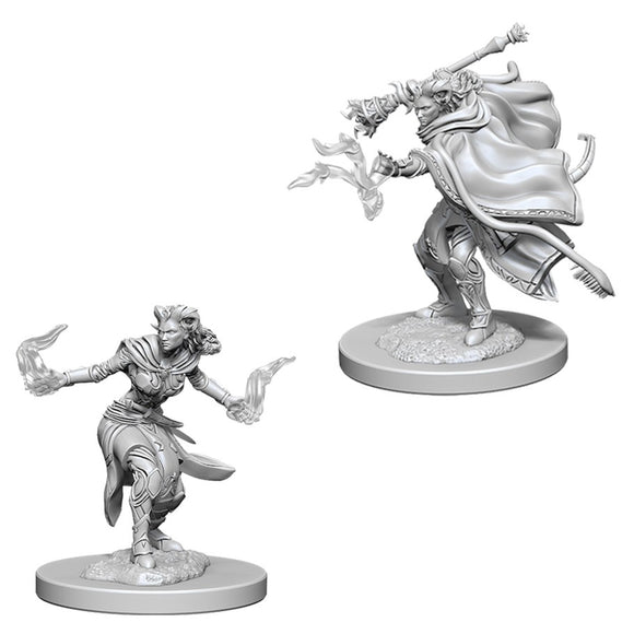 D&D Nolzur's Marvelous Miniatures: Female Tiefling Warlock (73389)