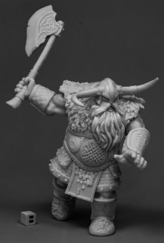 Reaper Bones: Frost Giant Warrior (1H Axe) (Huge) (77543)