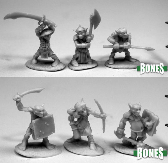 Reaper Bones: 6 Goblins (77444/77445) - Not in Retail Packaging