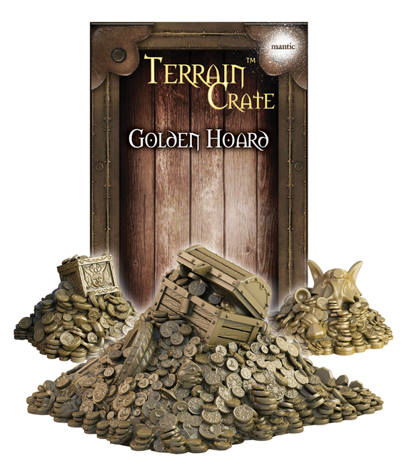 Mantic Games - Terrain Crate: Golden Hoard (MGTC137)