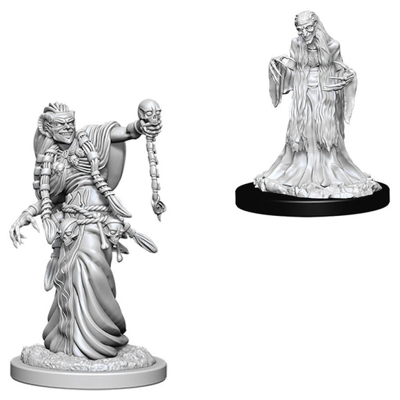 D&D Nolzur's Marvelous Miniatures: Green Hag & Night Hag (73402)