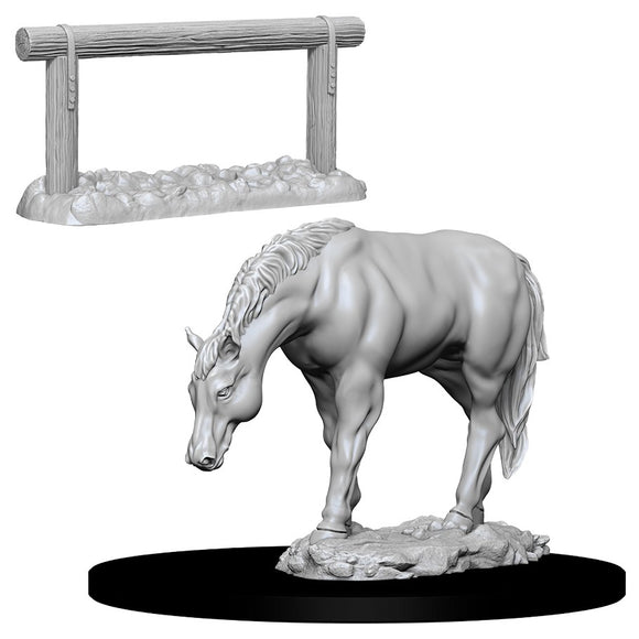 WizKids Deep Cuts: Horse & Hitch (73862)