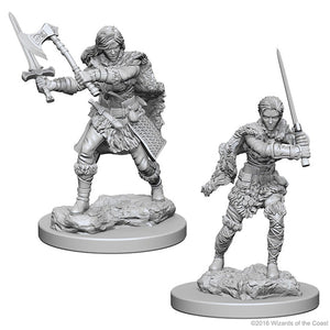 D&D Nolzur's Marvelous Miniatures: Human Barbarian (Female) (72644)