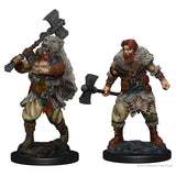 D&D Nolzur's Marvelous Miniatures: Human Barbarian (Male) (72643)